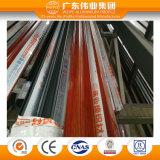 El grano de madera roja Material de construcción para las puertas de la ventana de aluminio