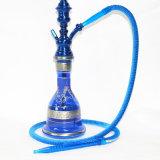 Qualitäts-Schrauben-Stamm-Mund-Entwurfs-künstliche Huka-Flasche mini elektronische Cigarett Glaspfeife-Glaswasser-Rohr-Huka Shisha