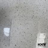 12mm白いCorianのアクリルの石造りの樹脂固体表面のCorian