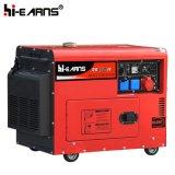 générateur diesel silencieux d'utilisation de maison de la couleur 6kw rouge (DG8500SE)