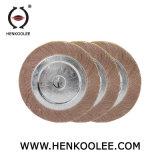 Borboleta de abrasivos Roda com material de óxido de alumínio para polimento de metais