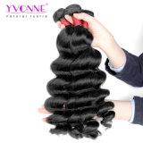 A extensão brasileira do cabelo humano do Weave do cabelo do Virgin da classe 8A do cabelo de Yvonne afrouxa a onda