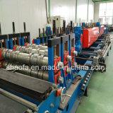 Tamanho da Mudança Automática totalmente a bandeja de cabos de aço galvanizado máquina de formação de rolos