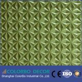 painel de parede 3D decorativo cinzelado de couro