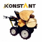 250kg農場のローディングのための平床式トレーラーが付いているKonstantの小型ダンプ