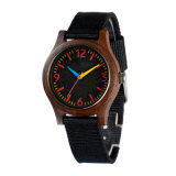 La moda de logotipo personalizado regalos personales Skateboard baratos relojes de madera