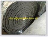 Alfombrilla de goma antideslizante esteras/Rollos para el transporte de mercancías pesadas para la remoción de