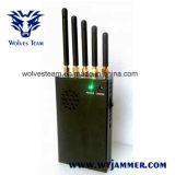 3W de draagbare 3G Stoorzender van de Telefoon van de Cel en 4G Stoorzender (4G LTE + 4G Wimax)