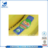 Водоустойчивый стикер ярлыка упаковки плодоовощ цены по прейскуранту завода-изготовителя