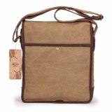 Sacchetto degli uomini di sacchetto del messaggero della spalla della tela di canapa dell'annata di modo