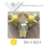 Válvula de Esfera de latão para contador de gás (EM-V-B253)