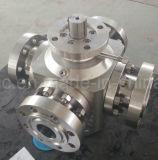 API/ANSI/ASTM/ASME forjó la vávula de bola del acero ASTM-A105 A182-F304/F316 con el extremo del borde/del tornillo/de la autógena