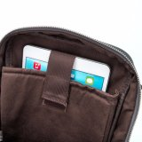 Pequeño bolso de hombro impermeable de nylon del Mens