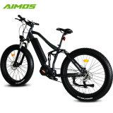Unidad de medio de la suspensión completa del motor de Bafang grasa 350W Bicicleta eléctrica de la montaña de neumáticos