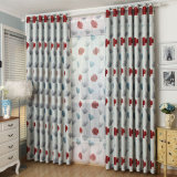 Sound-Insulating Eco-Friendly Printed Blackout Window Curtain (21W0016)