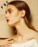 Cusotm Europe Style Hoop Dubai Gold Jewelry Earrings for Women