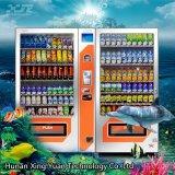 Máquina de Vending gêmea, grande petisco e máquina de Vending da bebida, máquina de Vending de dois gabinetes