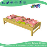 木の幼児の学校のベッド(HG-6502)を塗る黄色いくまモデル