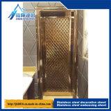 Aço inoxidável estéreo Gofragem Board Anti - Mosaico da folha de aço 546