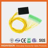 1X16 de aBS-Doos van de vezel Optische PLC Splitser