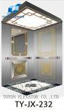 Elevador do passageiro de Toyon Mrl 1350kg com revestimento gravura a água-forte do espelho