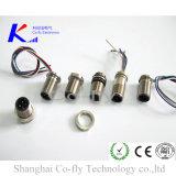 5 электрический соединитель металла держателя автомобильный водоустойчивый M12 M8 панели штырей