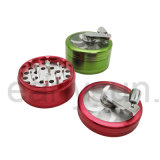 Rectifieuse en aluminium d'herbe de bonne qualité pour la fumée de tabac (ES-GD-049)
