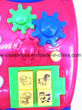 Нажатие клавиши цифровой музыки мультфильмов Телефон интересных игрушек