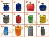Le fournisseur LPG 2kg 3kg de la Chine vident le prix de cylindre de gaz