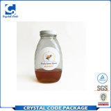 Collant adhésif imprimable fait sur commande d'étiquette de bouteille de miel de nourriture