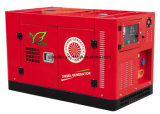 370квт Doosan дизельных генераторах со звукоизоляцией