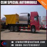 6*4 왼손 드라이브 또는 Rhd 아스팔트 살포 트럭, 아스팔트 자갈 판매를 위한 동시 밀봉 트럭