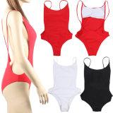 Swimwear Bodysuit костюмов заплывания сексуального цельного Swimsuit женщин женский Backless