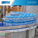 Imbottigliatrice automatica piena di vetro di acqua scintillante