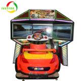 Macchina del gioco della vettura da corsa dello schermo dell'adulto tre della galleria del motore della Malesia Tt del centro del gioco video