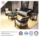 Mobília chinesa do hotel com o sofá da sala de visitas ajustado (67200)