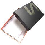 Boîte-cadeau de estampage chaude argentée d'emballage de jupe de logo