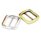 A curvatura quente do slider da barra do centro da liga do zinco do metal da venda para o saco parte os acessórios dos bens do couro de sapatas da curvatura de correia (YK815)