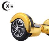 Самокат золотистых колес спортивный товаров 2 цвета прелестно напольных электрический