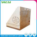 Piso de seguridad al por mayor de cosmética de cartón bandejas de papel mostrar
