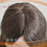 Stock completo de cabello delantero brasileño francés encaje peluca (PPG-L-01014)