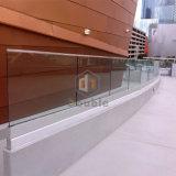 """Balaustra di vetro d'acciaio di sicurezza dell'inferriata di vetro moderna della scanalatura a """"u"""""""