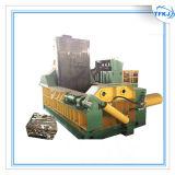 El metal recicla la prensa automática de las latas de aluminio
