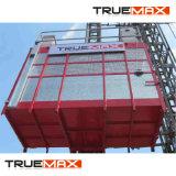 Einzelner Rahmen galvanisierte Mast-Kapitel-Gebäude-Hebevorrichtung