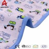 Cobertor feito malha Throw barato impresso do bebê do poliéster da alta qualidade