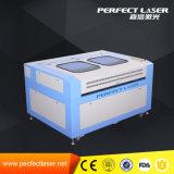 Graveur de laser de tissu de qualité sur le bois fabriqué en Chine