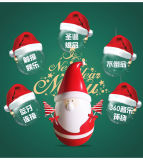 Le meilleur haut-parleur mignon de Bluetooth de Noël de père de culbuteur de cadeau de Noël