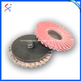 磨き、粉砕車輪の折り返しディスク安全石
