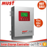 60A LCD表示が付いている高い追跡のEfficienctの太陽料金のコントローラ