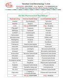 Cloridrato farmaceutico CAS 943-17-9 di Etilefrin della materia prima di alta qualità